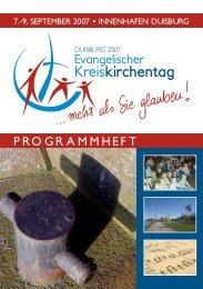 Programmbroschüre Kreiskirchentag Duisburg - Evangelischer ...