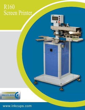 R160 1-color Screen Printer