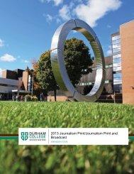 Program guide - Durham College