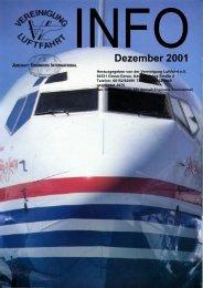Dezember 2001 - Vereinigung Luftfahrt eV