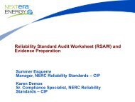 955_FPL Best Practice RSAW and Evidence Preparation