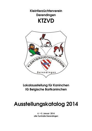 Ausstellungskatalog 2014 - ktzvd.ch