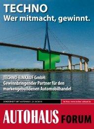 Wer mitmacht, gewinnt. - TECHNO-EINKAUF GmbH
