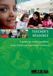 TEACHER'S RESOURCE - The New Zealand Educational Institute