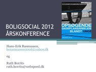 Opsøgende socialt arbejde blandt unge - Boligsocialnet