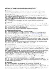 Vedtægter for Dansk Cytologiforening revideret marts 2011