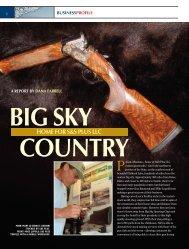 big sky country home for s&s plus llc - Tamarack Sporting Enterprises