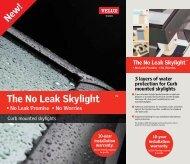 Velux Curb Mount Skylight Brochure