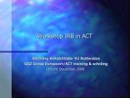 Technieken hulpverlening in ACT - swphost.com