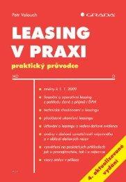 Nahlédnout do Leasing v praxi
