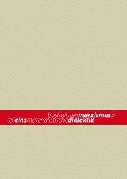 Materialistische Dialektik - SLP