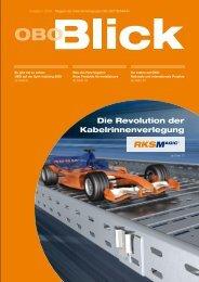 OBO Blick Ausgabe 1/2008 - OBO Bettermann