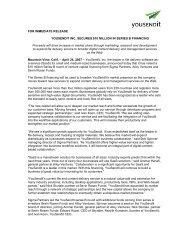 Yousendit Series B Funding Press Release