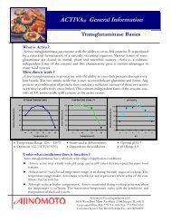 ACTIVA® General Information - Data Entry System