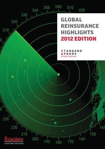 Global Reinsurance Highlights 2012 - Reactions