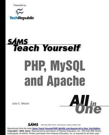 lamp linux apache mysql php 3e edition