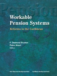 Workable Pension Systems Reforms in the Caribbean
