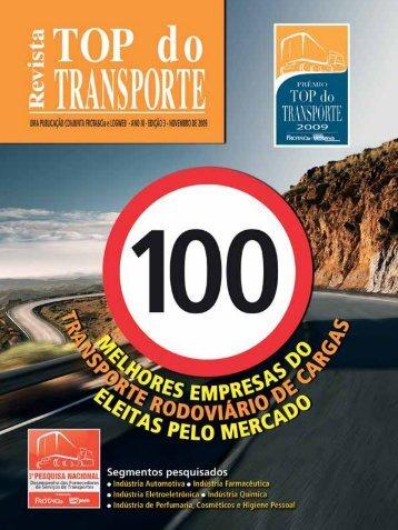 Revista Top do Transporte Edição n° 03 - Logweb