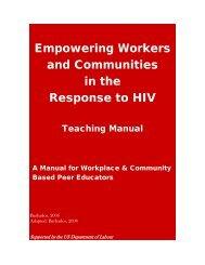 Manual - Caribbean HIV/AIDS Alliance