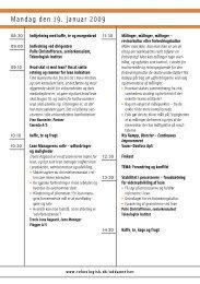 Lean Manager Forum - Teknologisk Institut