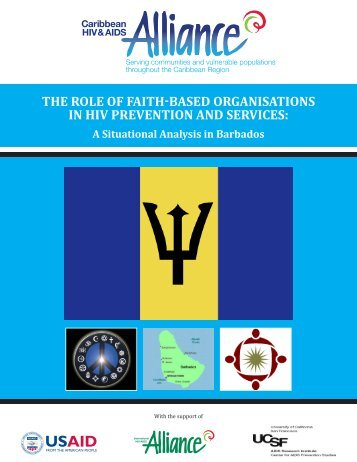 the role of faith-based organisations in hiv prevention and services