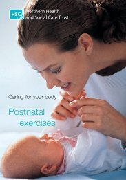 Postnatal exercises - Northern Health and Social Care Trust