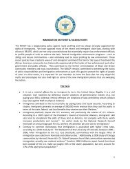 1 IMMIGRATION FACTSHEET & TALKING POINTS The NAACP has ...