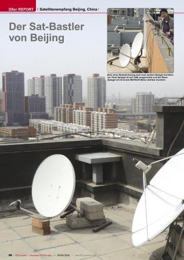 Der Sat-Bastler von Beijing