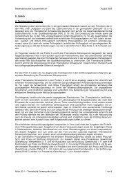 Thematischen Schwerpunkte Latein für das Abitur 2011