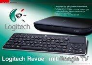 Logitech Revue mit Google TV - TELE-satellit International ...