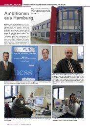 Ambitionen aus Hamburg - TELE-satellite International Magazine