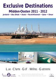Dubai - Exclusive Destinations