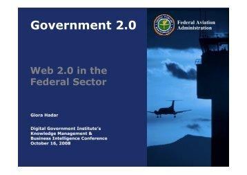 Hadar Web 2.0 - Digital Government Institute