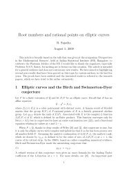 Root numbers and rational points on elliptic curves