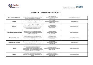 Per PDF lista charity - agg. 17.02
