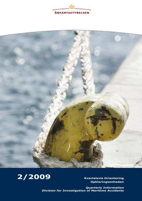 kvartalsvis orientering 2 2009 - Søfartsstyrelsen