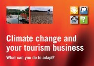 Climate change and your tourism business What ... - Our South West