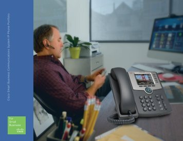 Cisco Smart Business Communications System ... - Canatech Global