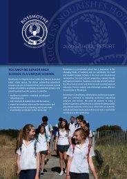 2009 Annual Report(PDF) - Rossmoyne Senior High School