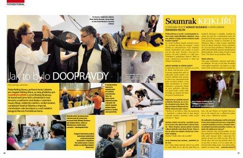 fotoeditorial společenského časopisu Instinkt - Ondřej Aust