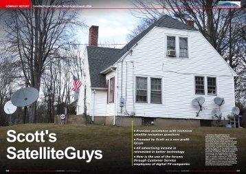 Scott's SatelliteGuys - TELE-satellite International Magazine
