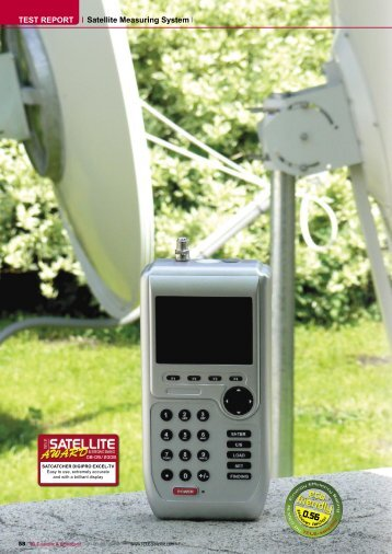 Satellite Measuring System - TELE-satellite International Magazine