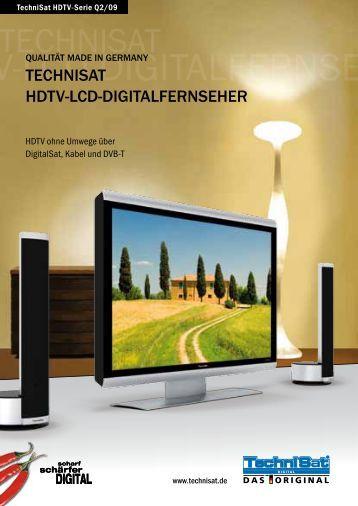 TechniSaT hDTV-LcD-DigiTaLfernSeher QuaLiTäT MaDe in gerMany