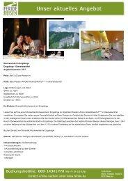 Wochenende im Erzgebirge - Eventreisen - Trierischer Volksfreund