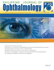 00_pao cover 4 colors - Philippine Journal of Ophthalmology