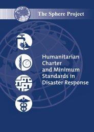 Humanitarian Charter and Minimum Standards in Disaster Response