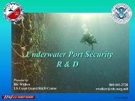Underwater Port Security R & D Presented by - Wired