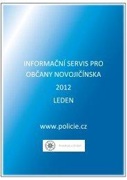 Informační servis leden 2012