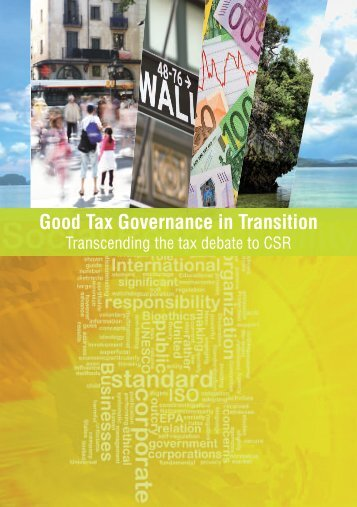 Good Tax Governance in Transition