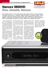 Nanoxx 9800HD - TELE-satellite International Magazine